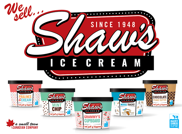 Celebrate National Ice Cream Day with Shaw's Ice Cream and Canadian Dairy Farmers!
